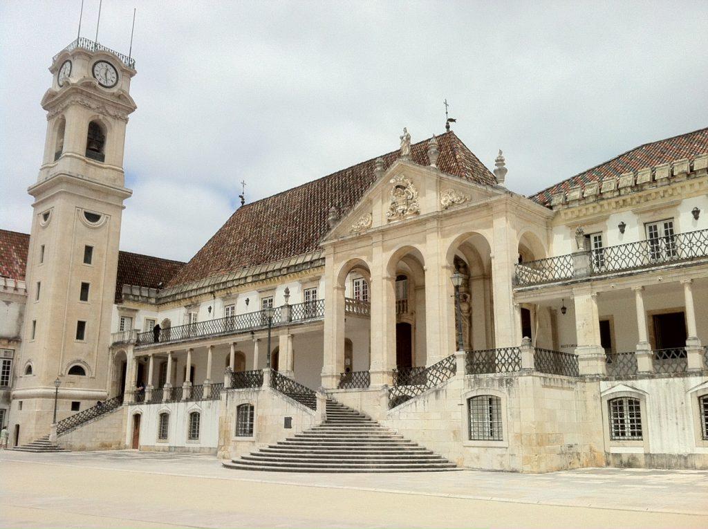 Een deel van de oude universiteit.
