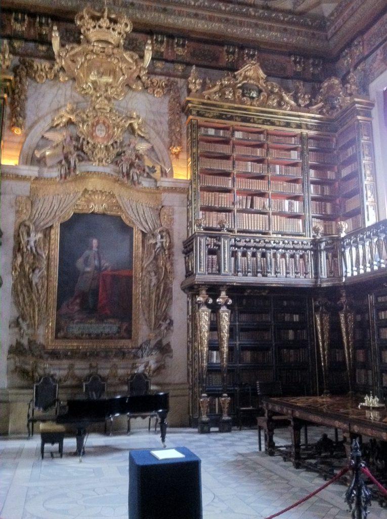 Bibliotheek van de universiteit.